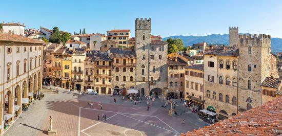 Dove dormire ad Arezzo dai 30 ai 60 euro al giorno.