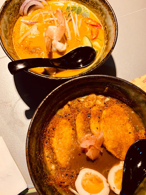Tampopo soups - japanese katsu udon and laksa soup