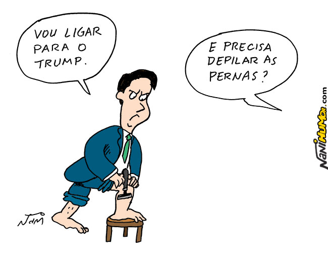 Nani Humor: BOLSONARO E TRUMP
