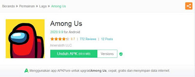 cara download among us apk