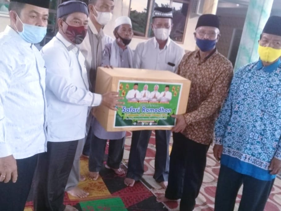 Safari Ramadhan di Masjid Baiturrahim, Bupati Sergai Ajak Masyarakat Terapkan Prokes