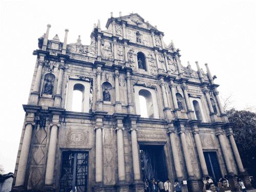 The Ruins of St. Paul's in Macau