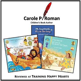 http://traininghappyhearts.blogspot.com/2017/09/CarolePRoman.html