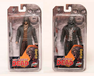 New York Comic Con 2017 Exclusive The Walking Dead Beta Action Figure by McFarlane Toys