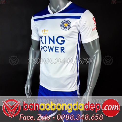Áo Leicester City trắng 2019 training 1