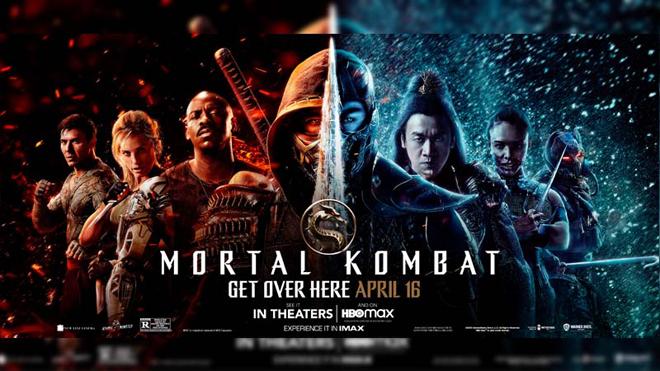 Mortal Kombat 2021 póster
