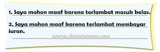 Contoh ungkapan maaf yang pernah saya ucapkan www.simplenews.me