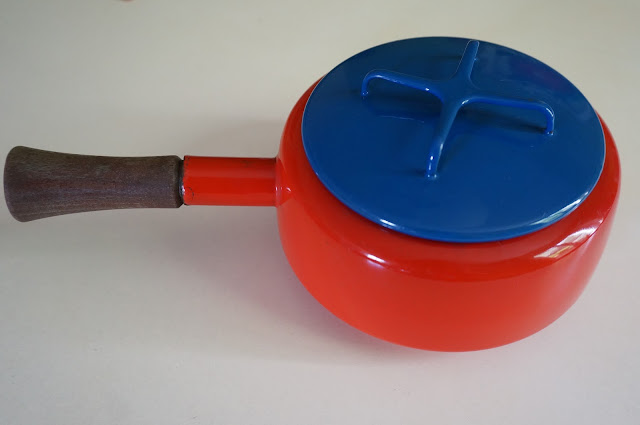 pot émaillé - enamel saucepan  Dansk designs 1960s 1970s 60s 70s