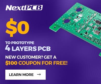 NEXTPCB $100 COUPON FREE