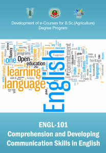 Comprehension and Developing Communication Skills In English ICAR E course Free PDF Book Download e krishi shiksha