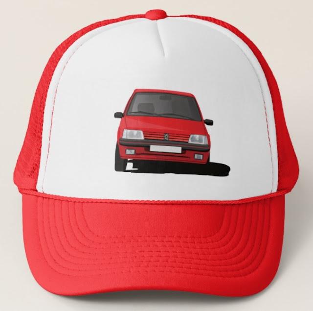 Peugeot 205 GTi trucker hats