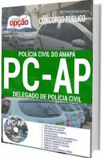 Apostila PC-AP 2017 Delegado de Polícia Civil