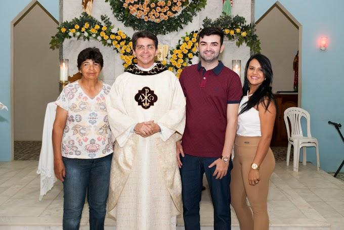 Ronaltty Neri participa do encerramento da festa de São João Batista no Povoado Currais Novos