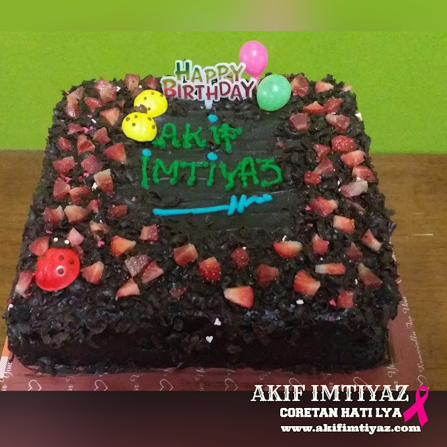 Kek Birthday , Selamat Hari Lahir , Happy Birthday