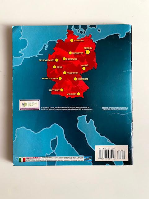 Quarta di copertina Germania 2006
