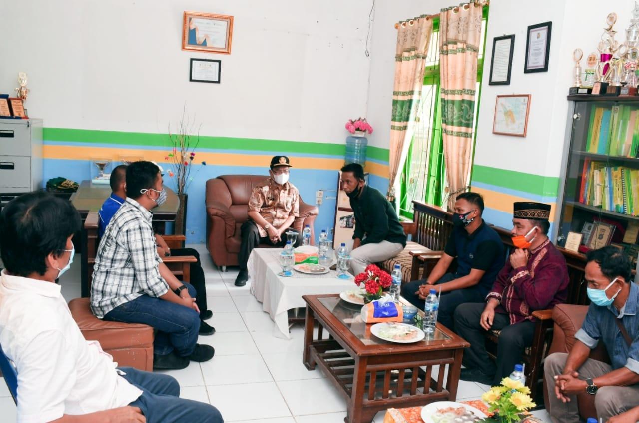 Pjs Bupati Sergai Mengunjungi Kantor Camat Tanjung Beringin