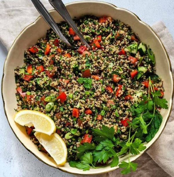 Gluten-Free Lemon and Herb Quinoa Tabbouleh