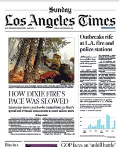Los Angeles Times Magazine 26 September 2021