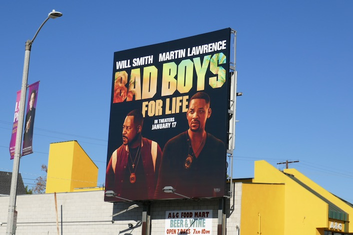 Bad Boys For Life billboard