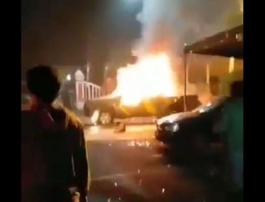 Kronologis Polsek Ciracas Dibakar 100 Orang