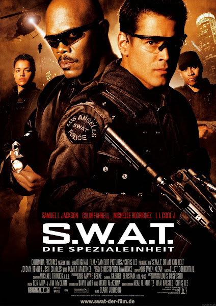 Poster Of S.W.A.T 2003 720p Hindi BRRip Dual Audio Full Movie Download