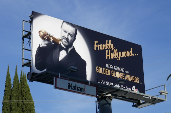 Golden Globes 2020 billboard