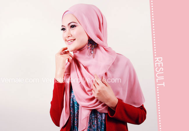 Tutorial Kreasi Jilbab Paris | Tutorial Hijab