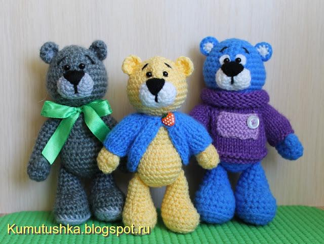 Amigurumi Little Bear : Amigurumi Little Bears-Free Pattern - Amigurumi Free Patterns
