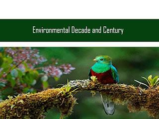 पर्यावरण संबंधी वर्ष दशक एवं शताब्दी