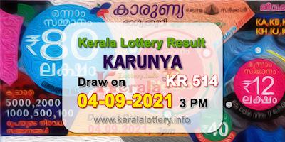 kerala-lottery-results-today-04-09-2021-karunya-kr-514-result-keralalottery.info