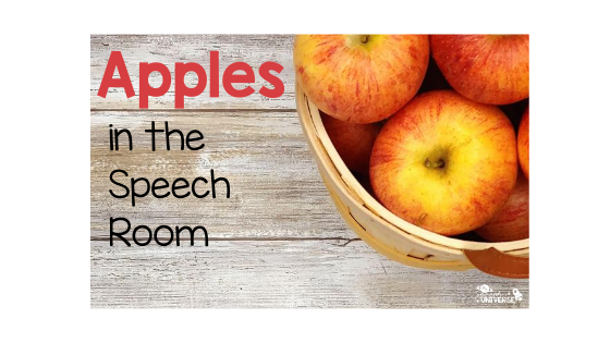 Apples in the Speech Room