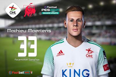PES 2021 Faces Mathieu Maertens by CongNgo