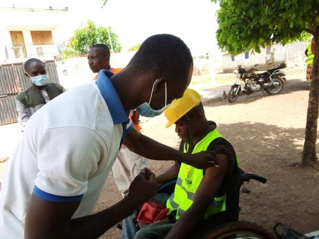 Pause vaccinale au Togo : Plus de 150 000 personnes ont reçu la première dose