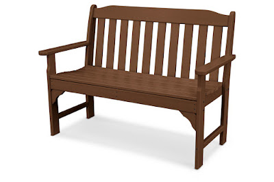 Polywood Ashley outdoor bench