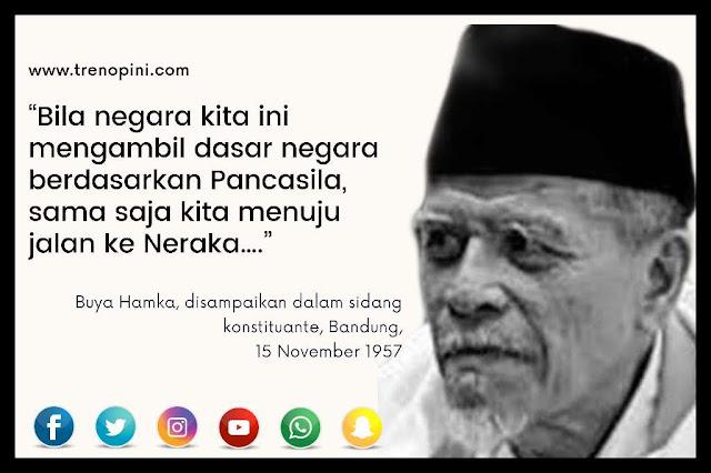 [Buya Hamka, disampaikan dalam sidang konstituante, Bandung, 15 November