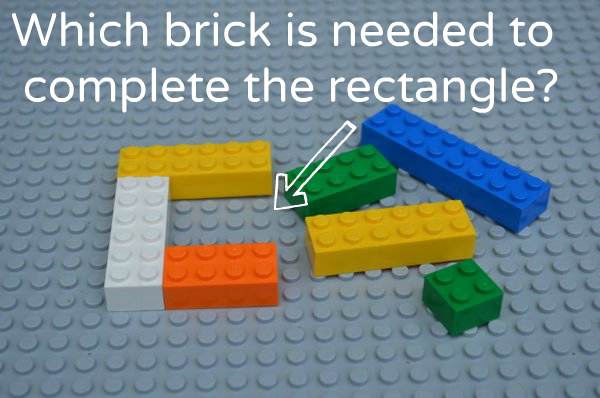 Math Activities for Preschoolers: Learning With Legos - Simple Problems 2