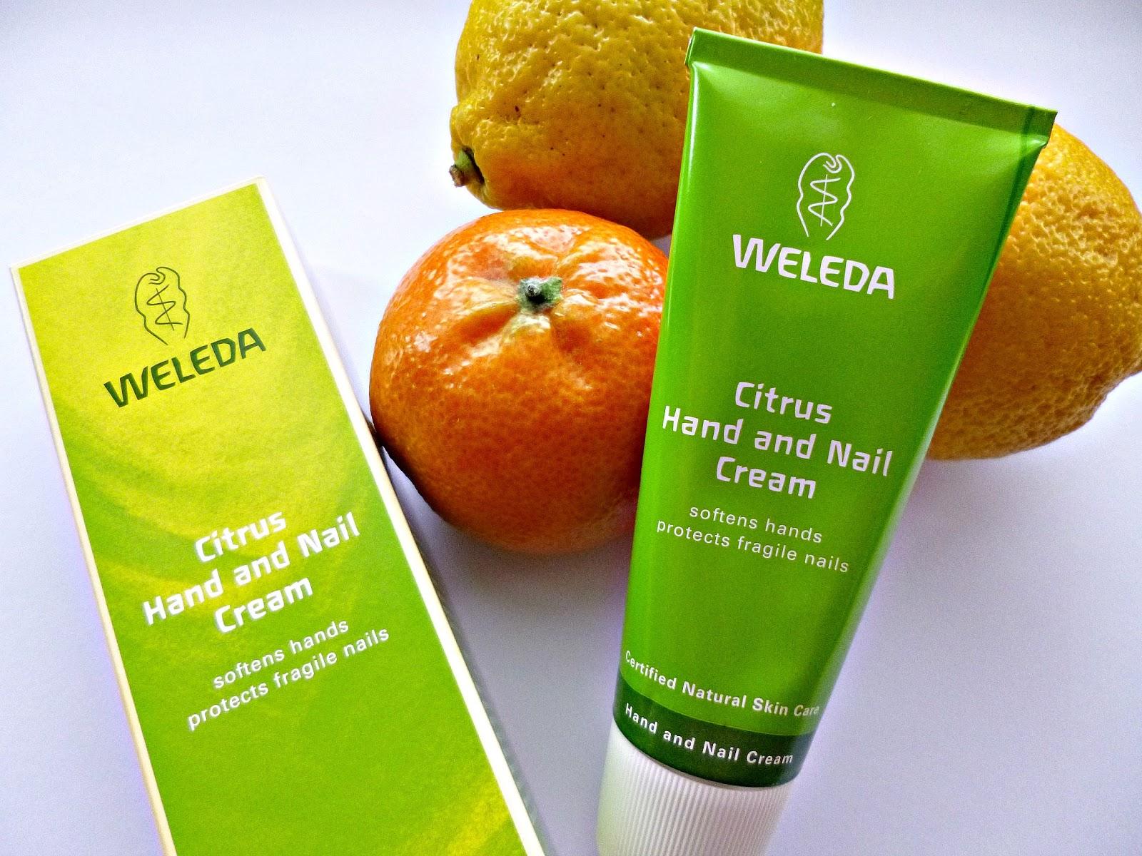 Skincare Hero: Weleda Citrus Hand and nail cream