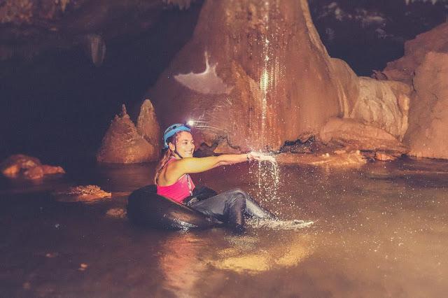 Wisata Cave Tubing di Kali Suci Gunung Kidul