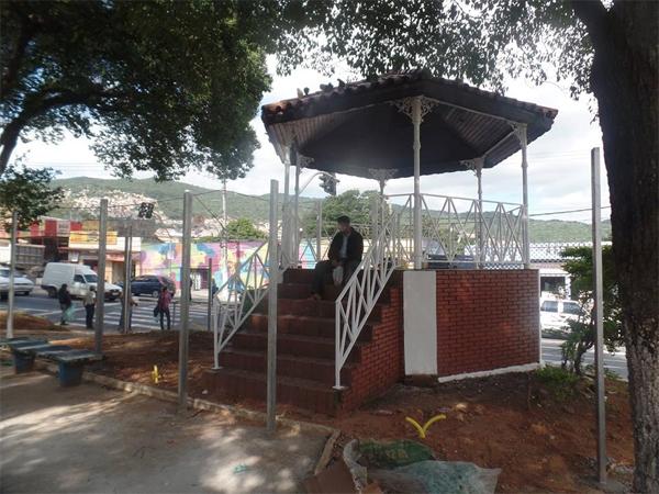 Coreto de Taipas em 2016. Foto: acervo TBJP-ZN