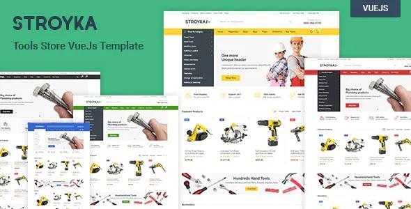 Best Tools Store Vue.js eCommerce Template