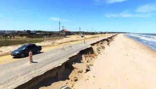 En uruguay tras el paso del ciclón quedó devastado el departamento de maldonado