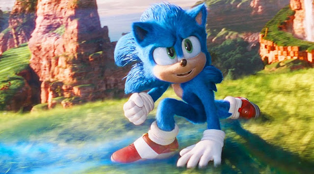 SONIC IN THE MOVIE (2020)