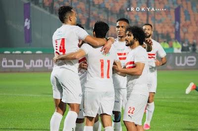التعادل السلبي يحسم الشوط الاول من  مباراة الزمالك ومولودية الجزائر