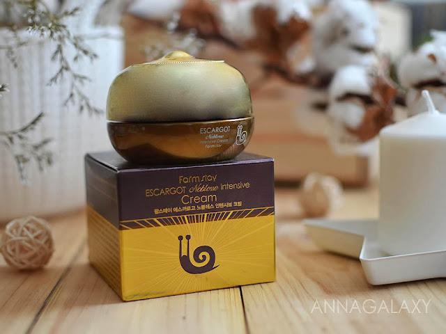 Крем для лица FarmStay Escargot Noblesse Intensive Cream отзыв