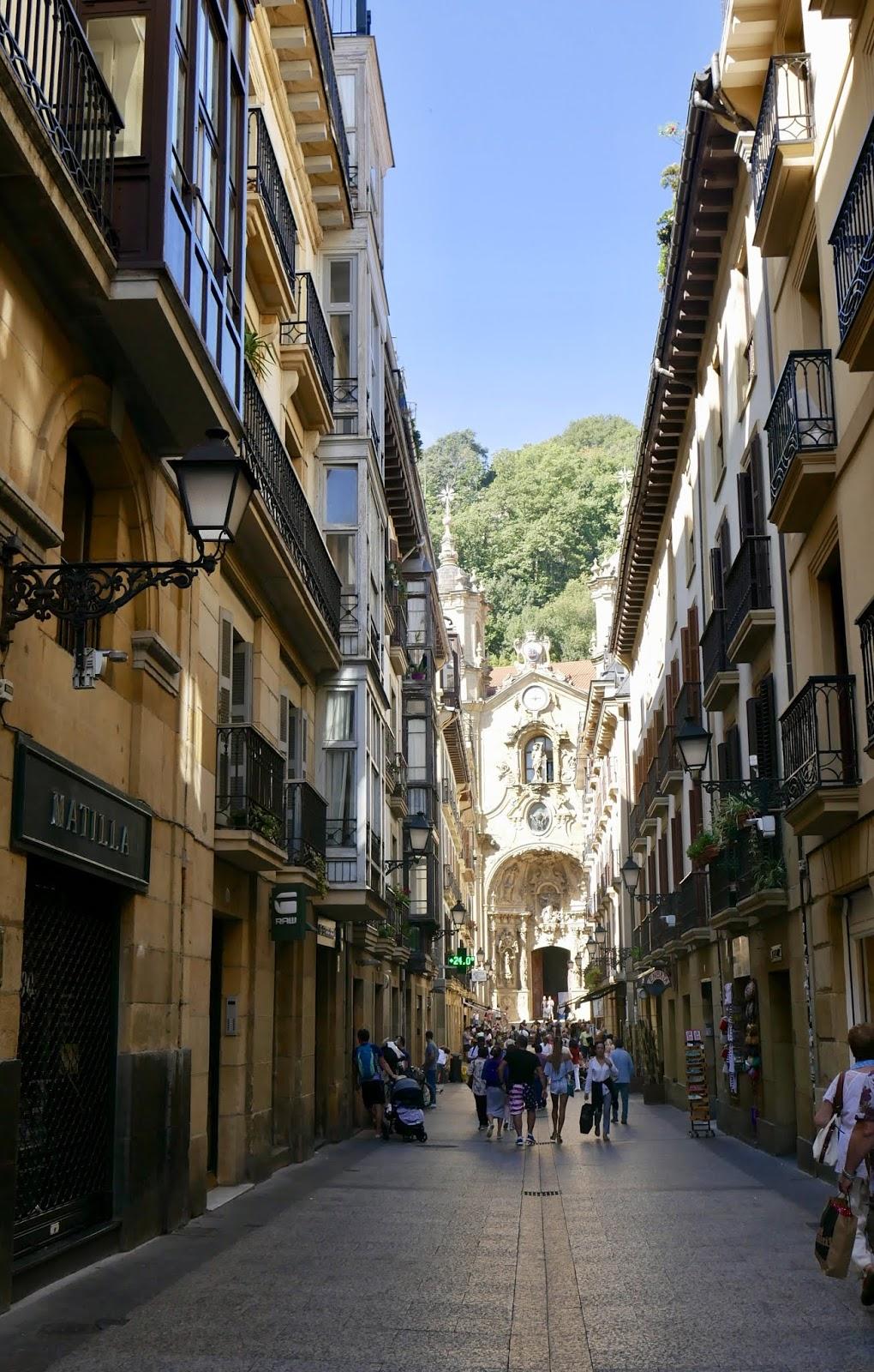 Basilique Sainte-Marie du Chœur Saint-Sébastien Pays Basque Espagne