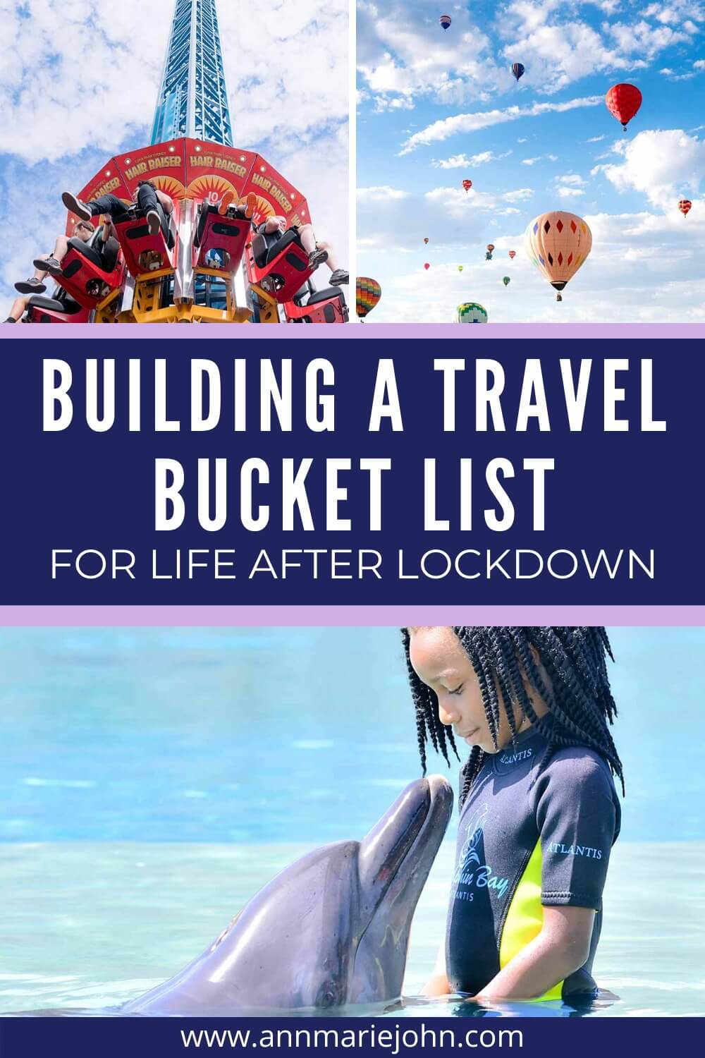 Building a Travel Bucket List For Life After Lockdown Pinterest