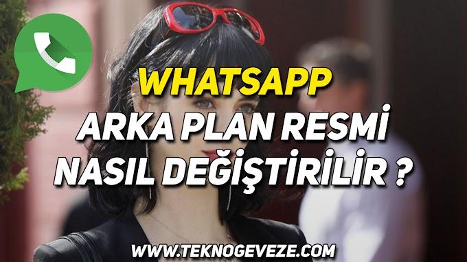 WhatsApp Arka Plan Resmi Nasıl Değiştirilir ?