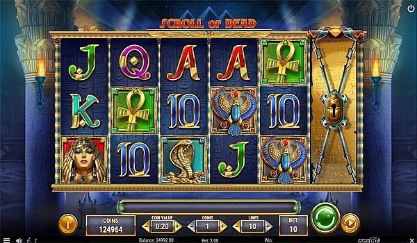Main Gratis Slot Indonesia - Scroll of Dead Play'n GO