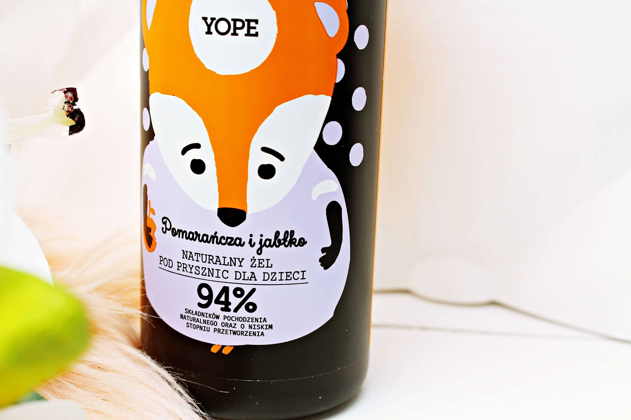 Żel pod prysznic dla dzieci Yope Pomarańcza Jabłko