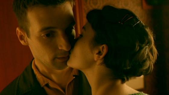 Амели, День влюбленных, Поцелуй